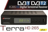 Tuner DVB-T DVB-T2  OPTICUM LION TERRA HD265 PLUS