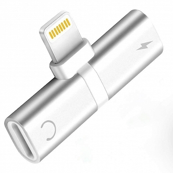 Rozdzielacz Adapter Lightning dongle do  iphone    RED / SILVER / BLACK   mix color