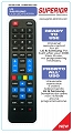 Universal Remote Control for LCD SAMSUNG and LG Superior SUP028