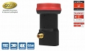 LNB Diavolo Single Gold 0,1dB 4K 3D