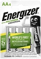 4x Akumulatorki AA / R6   Energizer Power Plus  Ni-MH 1300mAh