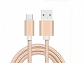 Kabel USB-C  3.1 - USB 145 cm nylon / mix color